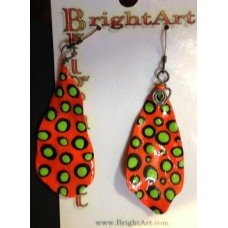 Bright Art earrings-Leaves