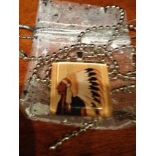 Indian Chief pendent