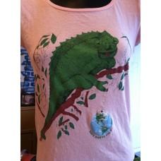 Save the Planet shirt (chameleon)
