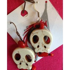 Lynette Henry Skull earrings