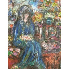 Penny Catan - Woman in the Garden Far Away